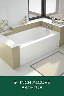54-Inch-Alcove-Bathtub