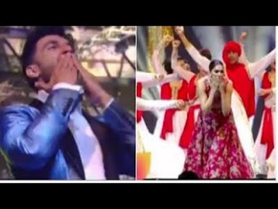 IIFA Awards 2016 | Deepika Padukone & Ranveer Singh Are Sending Flying Kisses To Each Other