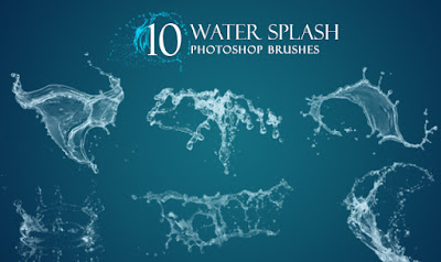 Brushes - Water Splash