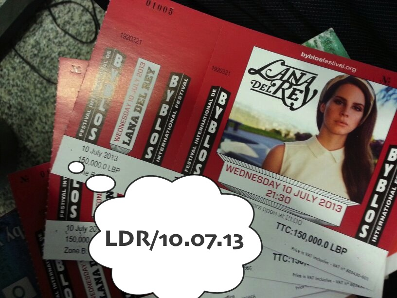 NourSpot: Tickets to Lana Del Rey @ Byblos International ...