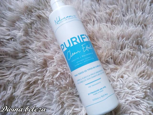 Shampoo Anti Resíduo Purify Clean Naturiam