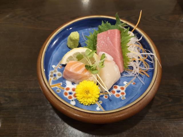 Assorted Sashimi 3 kinds