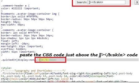 Notification Bar Blogger