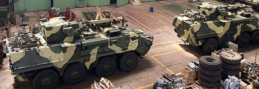ХКБМ передало фінальні чотири БТР-4 за контрактом ЗСУ