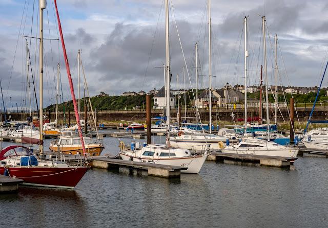 Photo of Bank Holiday Monday evening at Maryport Marina