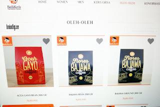 Produk kopi di Batik Keris online