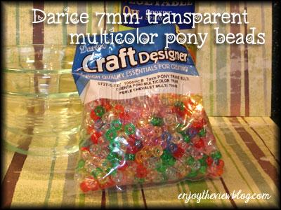 bag of pony beads