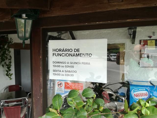 Moinho Bar Horario