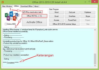 cara aktivasi microsoft office 2016 agar menjadi full versi secara offline