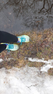 Chaussures de course New Balance, neige, boue, gazon