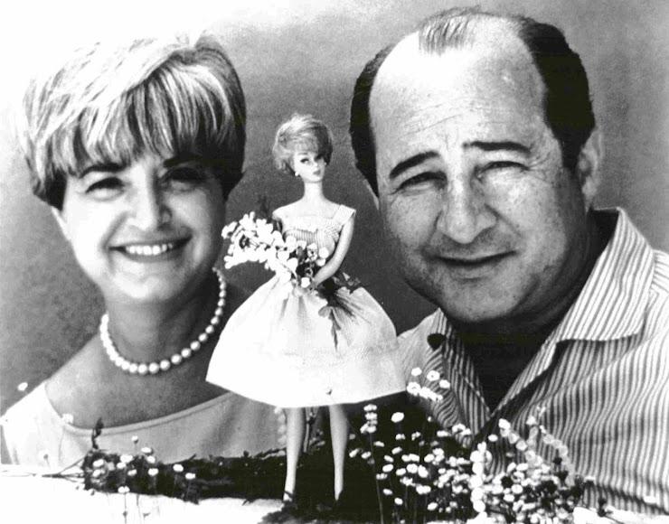 Ruth y Elliot Handler, fundadores de Mattel