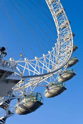 London Eye, South Bank, London, UK