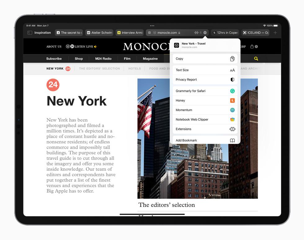Le novità di iPadOS 15