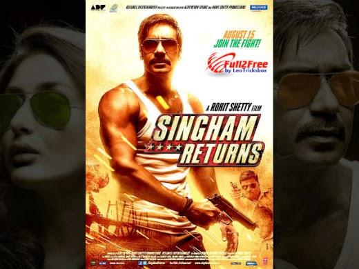 Movie : Singham Returns DvDrip
