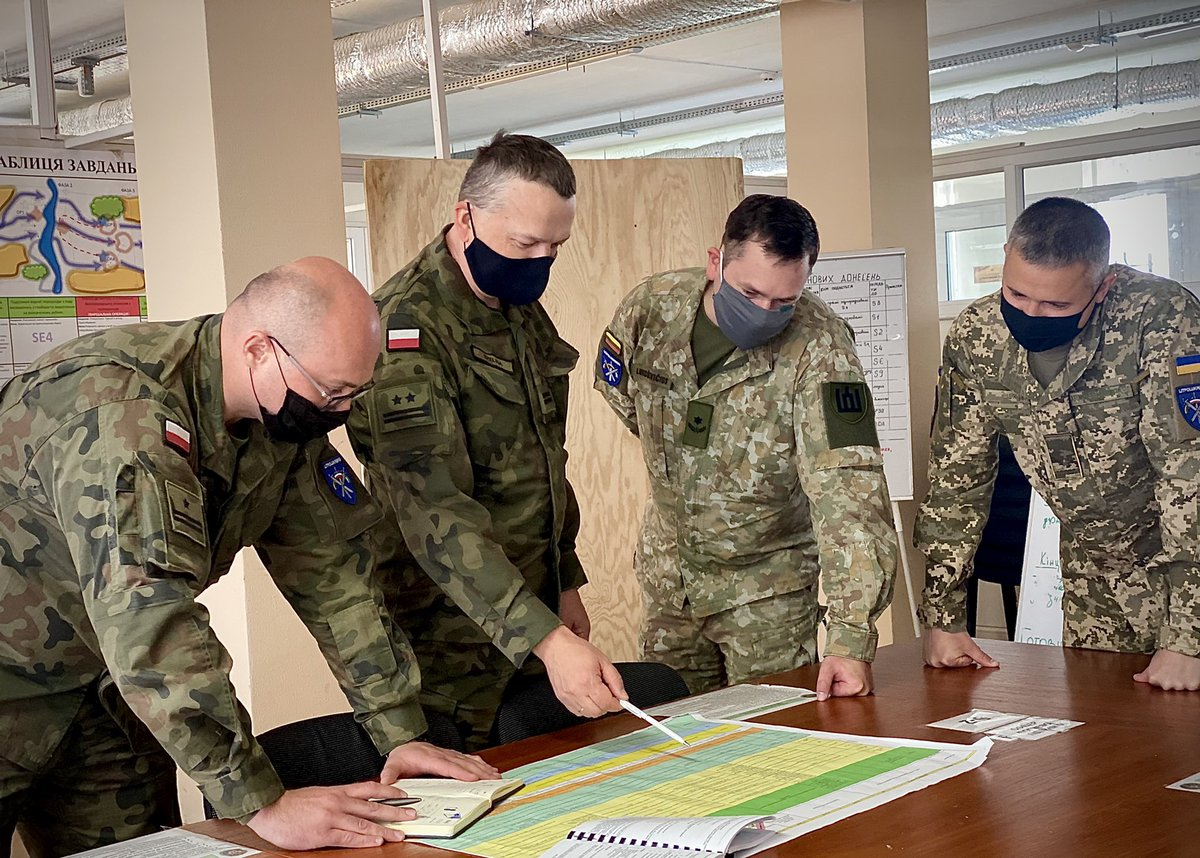 Ukraine, Poland, Lithuania and US to participate in exercise Three Swords