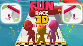 Game Run Race 3D Mod Unlocked Character Versi Terbaru