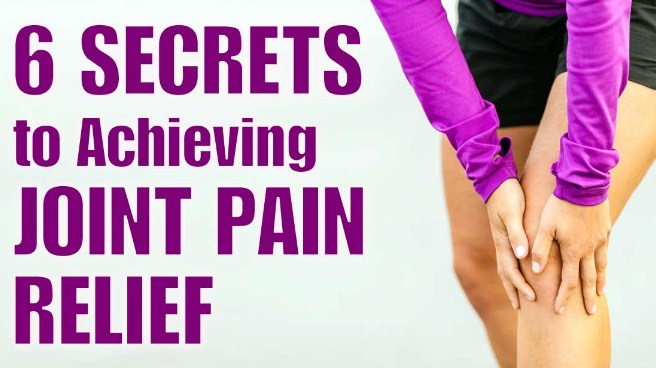 exercises to help relieve joint pain