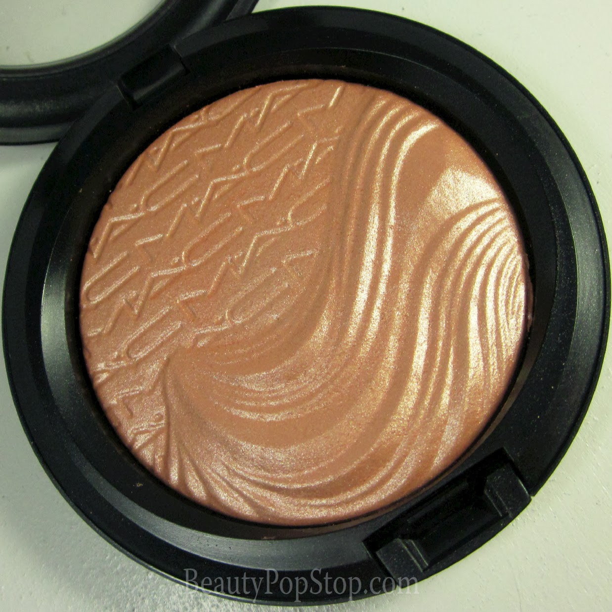 mac magnetic nude fairly precious extra dimension skinfinish swatch and review