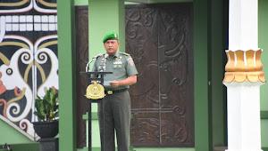 Pesan KASAD : Prajurit dan PNS TNI AD Harus menjaga kesehatan diri dan keluarga