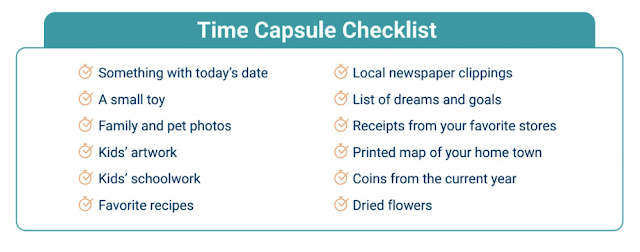Family Time Capsule Activity - with free printable