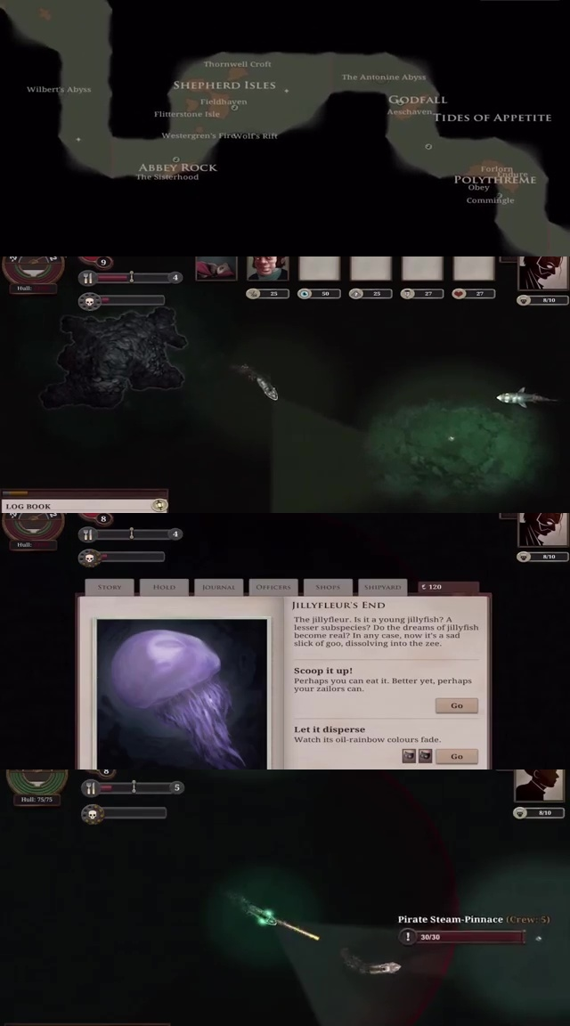 TOP10 SURVIVAL iOS GAMES OF ALL TIME 07. Sunless Sea
