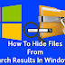 Computer Search Result Me Files Hide Kaise Kare