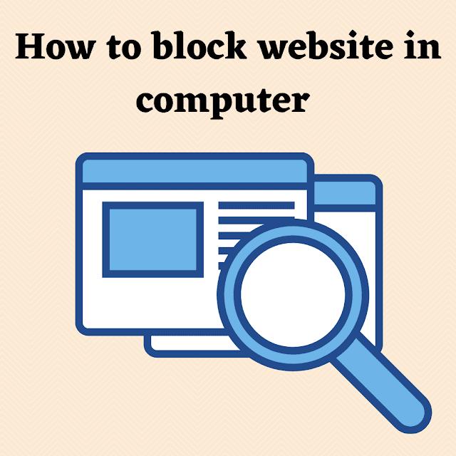 Computer me Website Block kaise kare