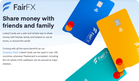 FairFX Linked Cards