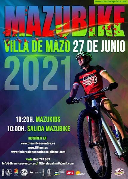 Villa de Mazo abre el plazo para inscribirse en la IV edición del 'Mazubike'