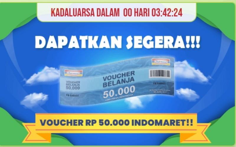 Voucher Gratis Indomaret dan Alfamart