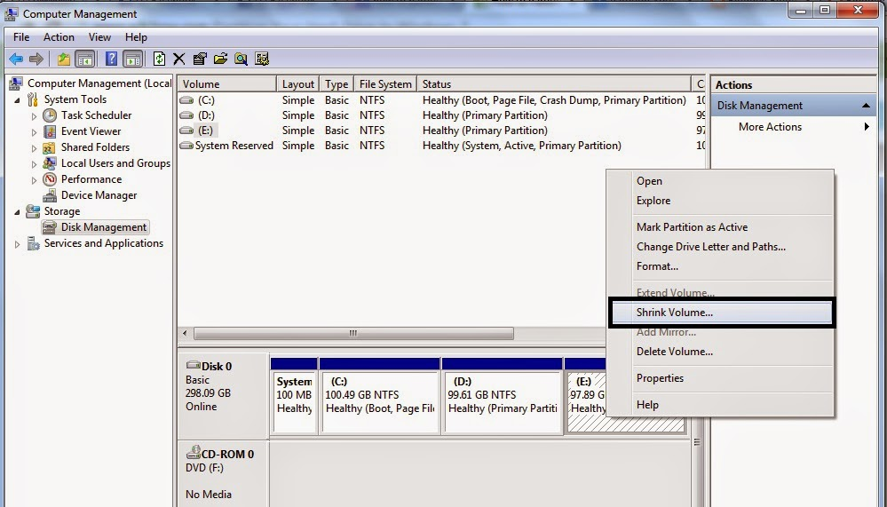 how to partition a mac hard drive for windows 7