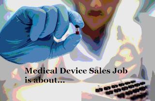 medical device sales job