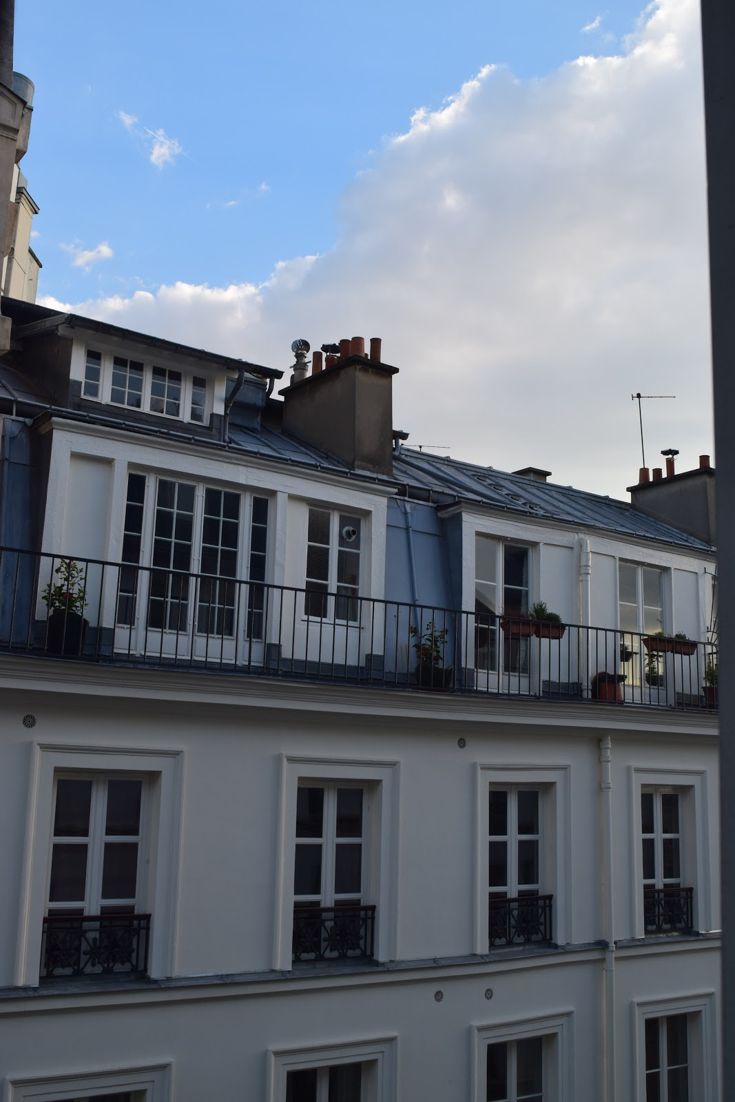 Hotel Belloy St Germain view