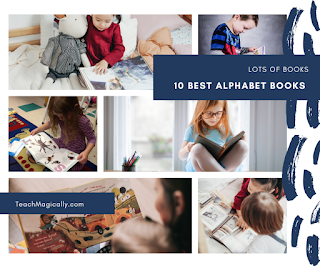 10 Best Alphabet Book Pictures by Teach Magically