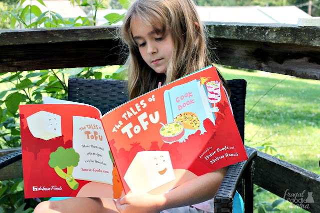 The Tales of Tofu ebook was created in partnership with Melissa Rauch as a fun way to introduce your kids to tofu & to show them how versatile it can be and to hopefully inspire them to want to get in the kitchen more.