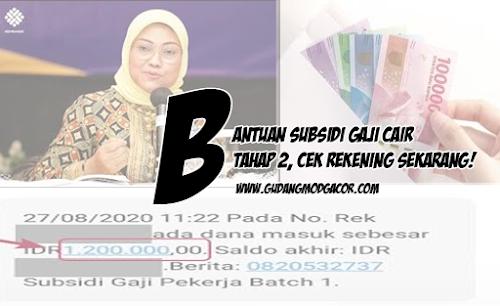 BSU Tahap 2 Sudah Cair, Segera Cek Nomor Rekening Anda!
