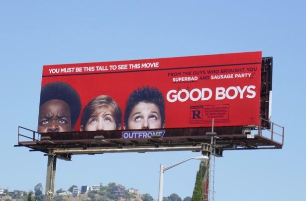 Good Boys movie billboard