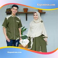 Samawa Couple Set | Dress | Gamis | Baju Pasangan Couple Muslim