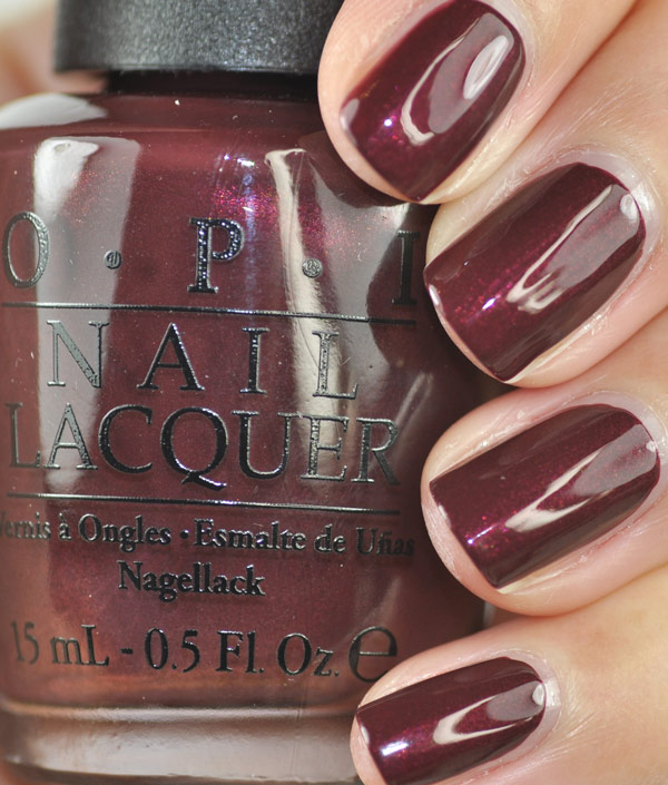 OPI Mariah Carey Holiday 2013 Swatches And Review