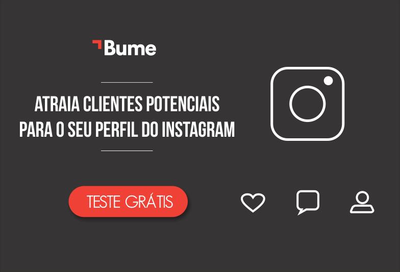 Aumente o número de seguidores engajados no Instagram com o Bume