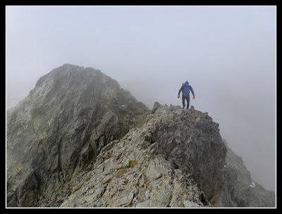 Hacia el Pico Rabadá