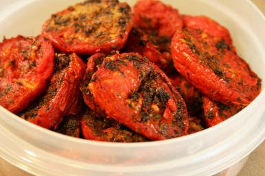 How to Make Slow Roasted Tomatoes (and Recipes Using Slow Roasted Tomatoes) found on KalynsKitchen.com