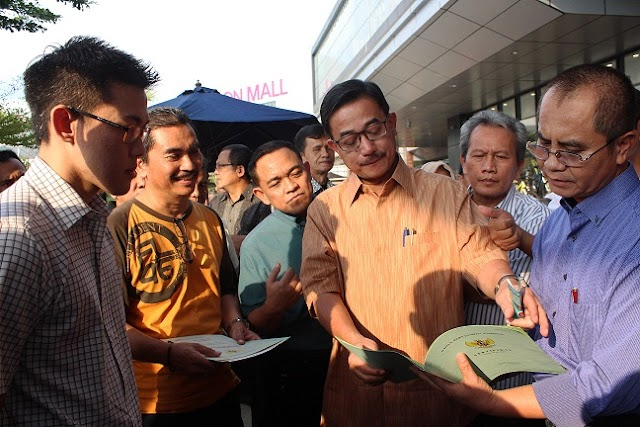 Menteri Agraria Pantau Ngabuburit Service