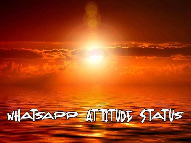 New Whatsapp Attitude Status In English