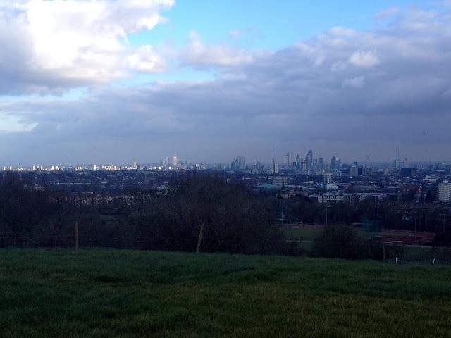 Las famosas vistas de Londres desde el Parliament Hill