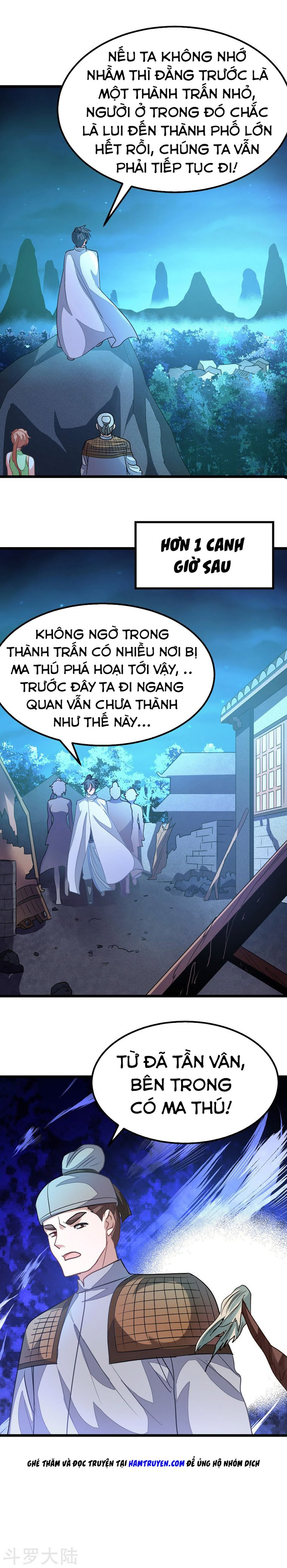 Cửu Dương Thần Vương Chapter 121 video - Hamtruyen.vn