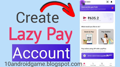 HOW to create Lazy pay account
