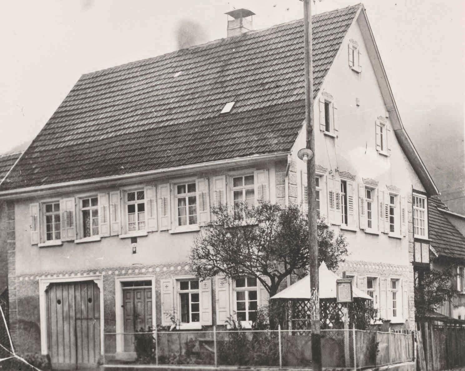 gv lichtenstein wohngeb ude familie glasbrenner unterhausen friedrich list stra e erbaut 1867. Black Bedroom Furniture Sets. Home Design Ideas