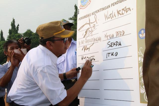 Kota Bekasi Deklarasikan Pendidikan yang Berintegritas