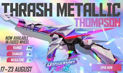 Thrash Metallic Thomson Redeem Code For Free
